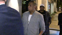 Jay Z Jets to L.A. After NBA Finals (VIDEO + PHOTO)