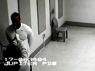 Tiger Woods Struggles to Take Breathalyzer During DUI Arrest (VIDEO)