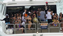 Meek Mill has Huge Yacht Party with His New Girlfriend (PHOTO GALLERY)