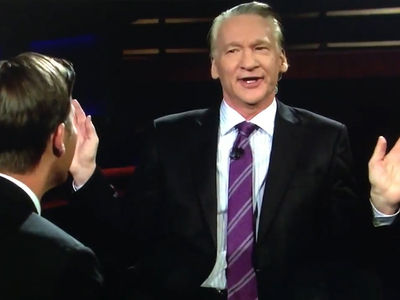 Bill Maher Hurls N-Word During Interview with Senator on 'Real Time' (VIDEO)