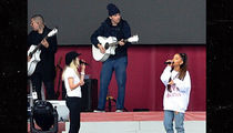 Ariana Grande Does Soundcheck at One Love Manchester Concert (PHOTOS + VIDEO + UPDATE)