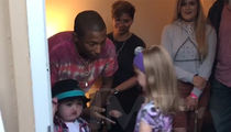 Pharrell Williams Serenades Young Leukemia Patient with 'Happy' (VIDEO + PHOTO)