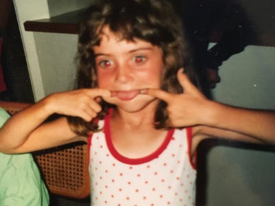 Guess Who This Silly Girl Turned Into!