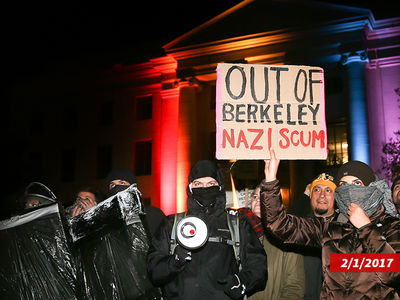 Prez Trump & Milo Yiannopoulos Fan Sues UC Berkeley for $23 Million