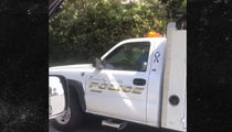 David Spade's Bev Hills Pad Robbed, Burglars Jacked His Safe! (VIDEO)