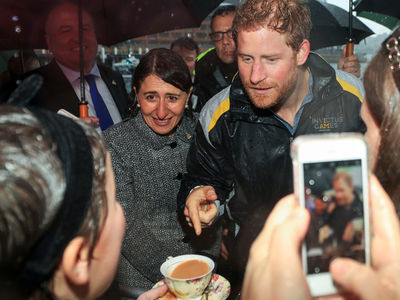 Prince Harry Leaves Fans Soaking Wet Down Under (PHOTOS)