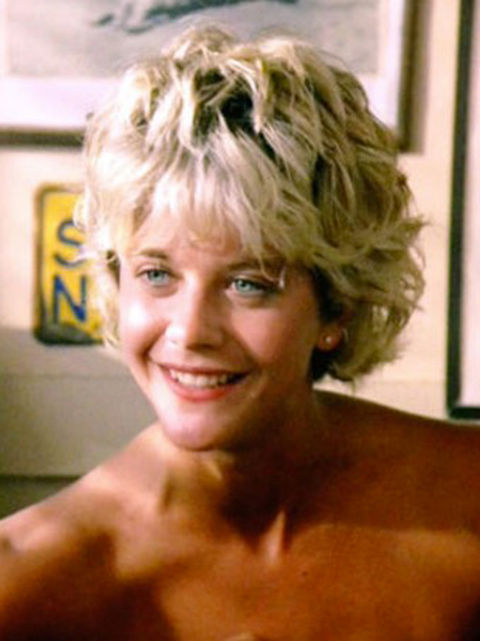 "Meg Ryan as ""Carole."""