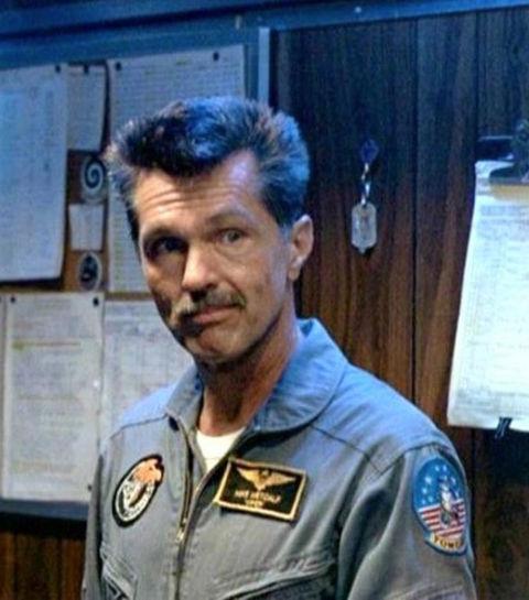 "Tom Skerritt as ""Viper."""