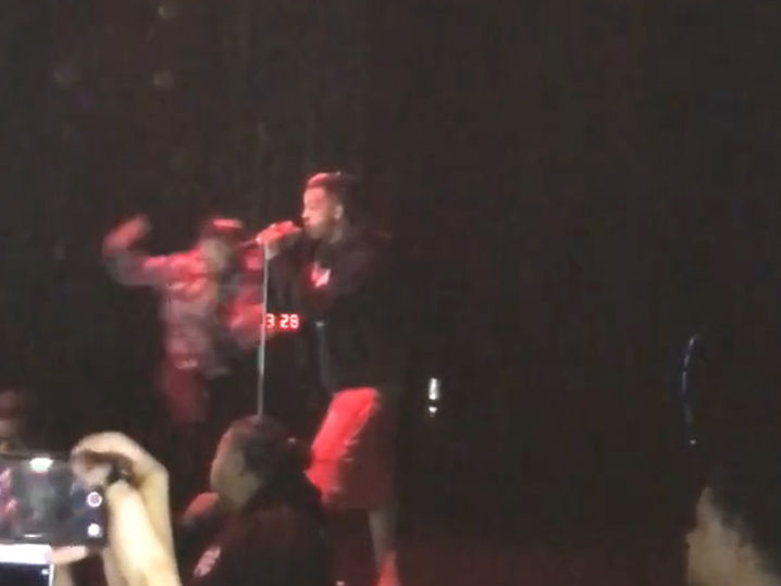 XXXTentacion Knocked Out Onstage, One Person Stabbed