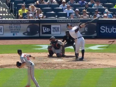 New York Yankees' Aaron Judge Hits a Record Long Home Run at 496 Feet (VIDEO)