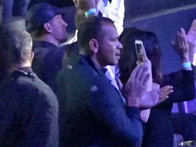 Alex Rodriguez, Channing Tatum and Jenna Dewan Party Together at J Lo's Vegas Show