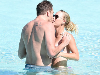 Caroline Wozniacki's Bikini PDA Sesh with David Lee