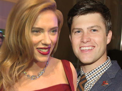 Scarlett Johansson's Date Night with 'SNL's' Colin Jost