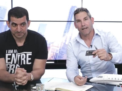 Motivational Speaker Grant Cardone Begs On Air for Permission to Use N-Word