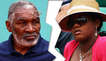 Serena & Venus' Dad Files for Divorce, She's Robbing Me Blind!
