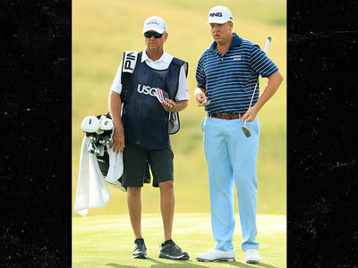 PGA Star Davis Love III Caddies For Son's U.S. Open Debut