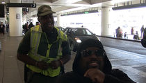 CeeLo Green Brought to His Feet by Airport Crossing Guard's Impromptu 'Voice' Audition
