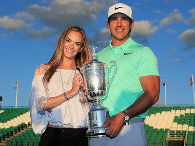 Brooks Koepka's Model GF Jena Sims Wins U.S. Open