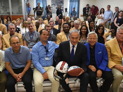 Israel Prime Minister Compares Peace Policy to NFL Football