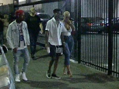 Amber Rose Leaves Concert with 21 Savage