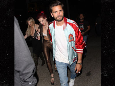 Scott Disick & Bella Thorne Together Again, Partying and Drinking Hard