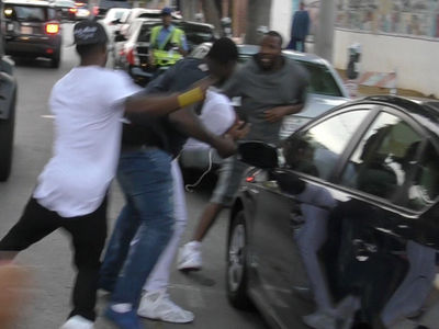 Nicki Minaj's Ex Safaree Ambushed By Meek Mill's Crew