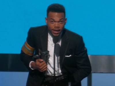 Chance the Rapper Calls for Justice at BET Awards with Michelle Obama's Help
