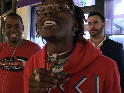 Rich The Kid Drops a Fortune on Papa Smurf Chain!!!
