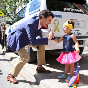 Justin Trudeau At Toronto Gay Pride