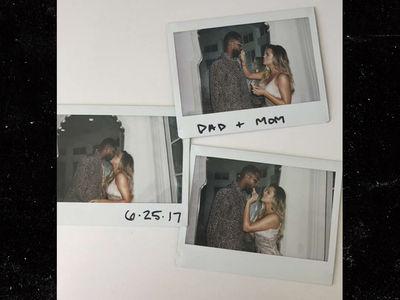 Khloe Kardashian Not Pregnant, Despite 'Dad + Mom' Post with Tristan