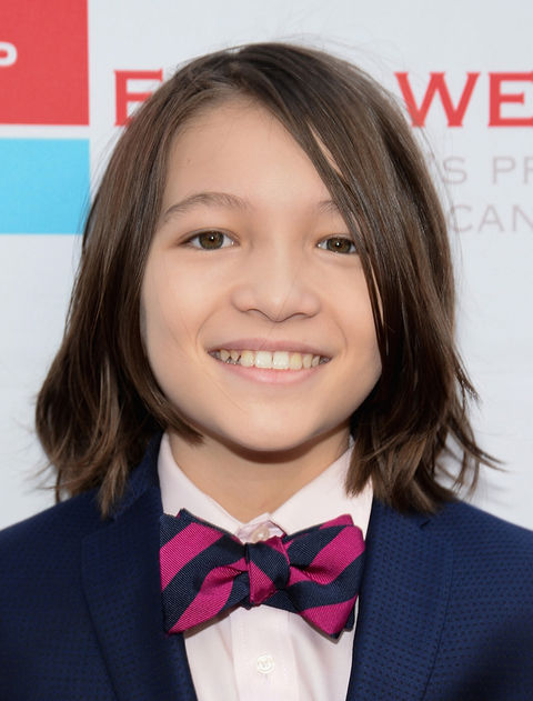 Teo Briones -- now 12 years old -- was photographed earlier this year looking honest.