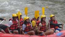 Barack Obama Takes the Fam White Water Rafting in Bali