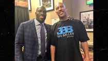 LaVar and Lonzo Ball Crashing WWE Monday Night Raw at Staples Center