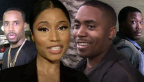 Nicki Minaj Moving On with Nas, Doesn't Care About Meek Mill and Safaree's Drama