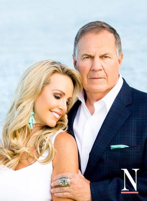 Bill Belichick and Linda Holliday in N Magazine