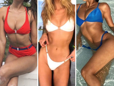 Guess The Sexy Stars in Red, White & Blue ... Happy Fourth of July!