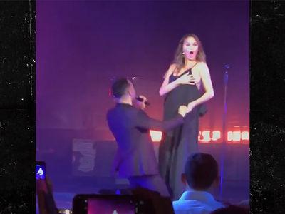 John Legend & Chrissy Teigen Dance and Laugh Off Wardrobe Malfunction!!!