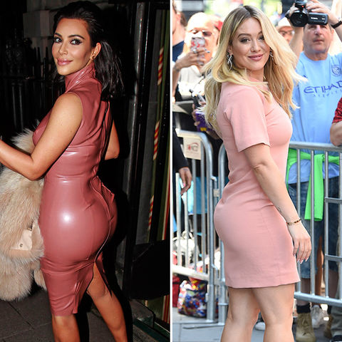 Kim Kardashian (36) vs. Hilary Duff (29) -- Hump Day Edition
