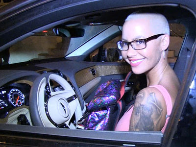 Amber Rose Ridin' With 21 Savage, Again