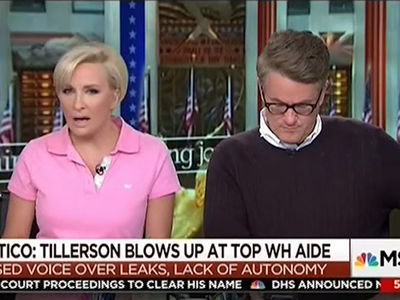 MSNBC's 'Morning Joe' Verbal Shots That Set Off President Trump