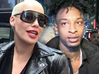 Amber Rose and 21 Savage in Full-Blown 'Meet the Family' Relationship