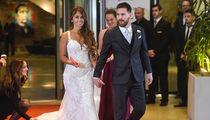 Lionel Messi Rolls Out Red Carpet For Superstar Wedding