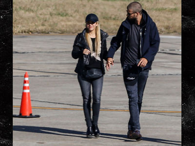 Shakira Lands In Argentina for Messi's Mega Wedding