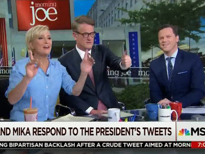 Joe Scarborough, Mika Brzezinski Claim Trump Offered to Kill Tabloid Story IF They Kissed the Ring