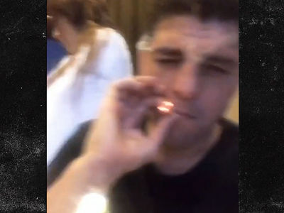 Nick Diaz Smokes Fat Joint Hours after USADA Suspension