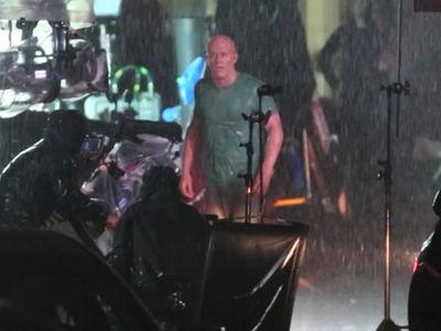 Ryan Reynolds in Full Wade Wilson Mode On Set of 'Deadpool 2'