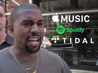 Kanye West Done with Exclusive Music Deals After Tidal Beef