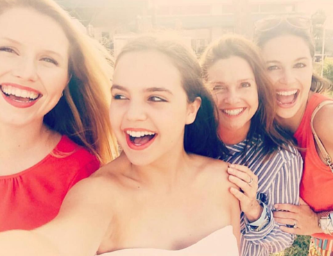 Bailey Madison posted a cute 4th of July pic with Pals