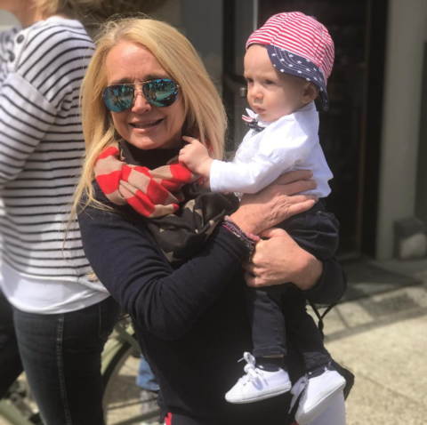 Kim Richards is spending her Independence Day with this cutie.