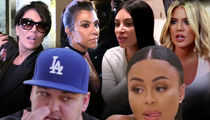 Kardashian Family Upset with Rob Over Posting Blac Chyna Naked Pics, You're Hurting Your Child